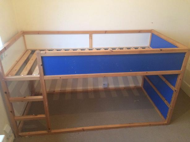 **REDUCED** IKEA reversible bed