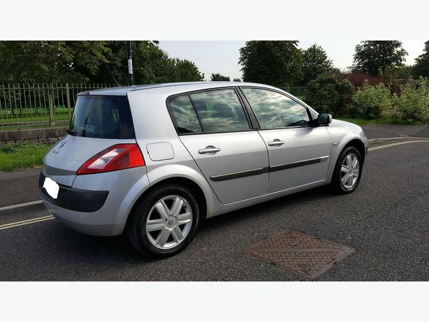 2005 top spec 6 speed renault megane 1.9 dci diesel+long mot+FREE DELIVERY