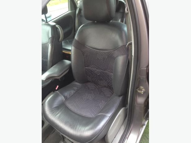 renault scenic half leather interior for sale