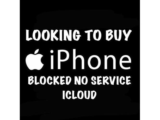 WANTED: blocked iPhone or samaungs cash waiting...!