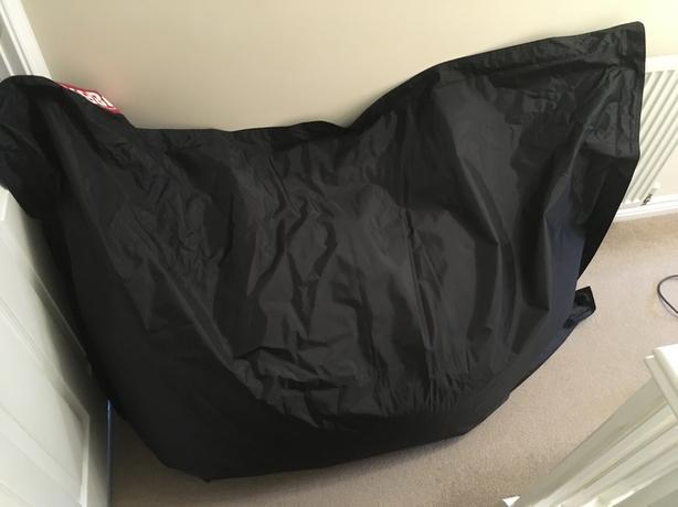 Big black bear bag.
