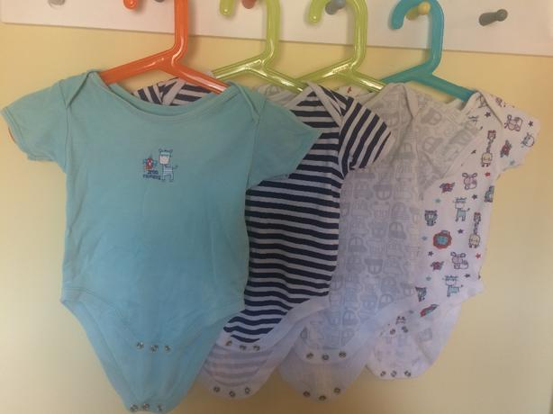 6-9 month vests and sleepsuits