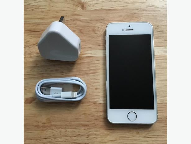 IPhone 5s 16gb Silver Vodafone,Lebara