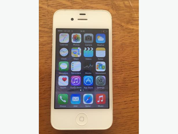 APPLE IPHONE 4S 16GB THREE/02/TESCO WHITE