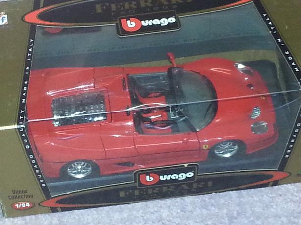Burango Ferrari Boxed F50