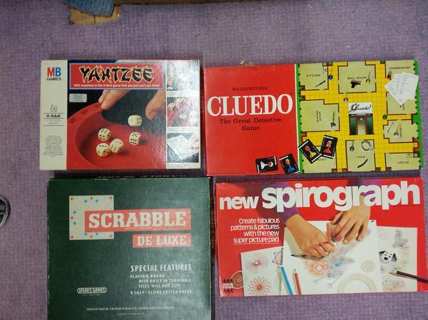 Assorted Games eg Scrabble/Cluedo
