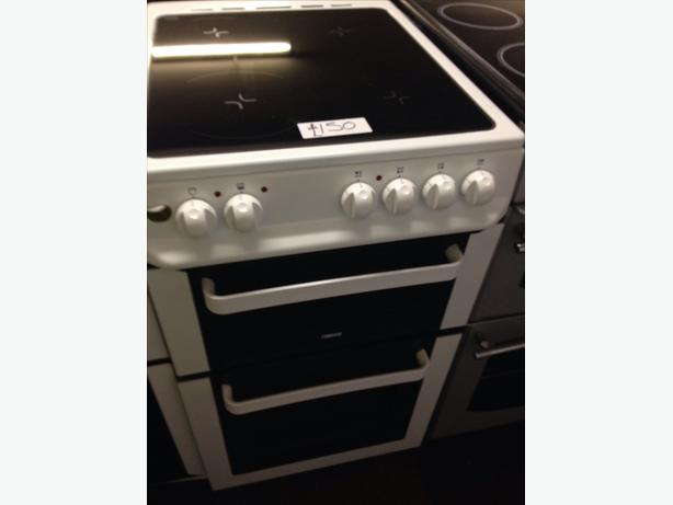 50CM CERAMIC TOP FAN ASSISTED ZANUSSI ELECTRIC COOKER