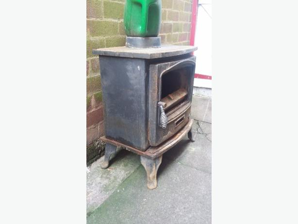 tiger log burner