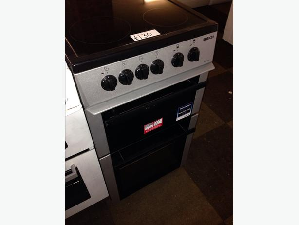 BEKO CERAMIC TOP ELECTRIC COOKER 50CM