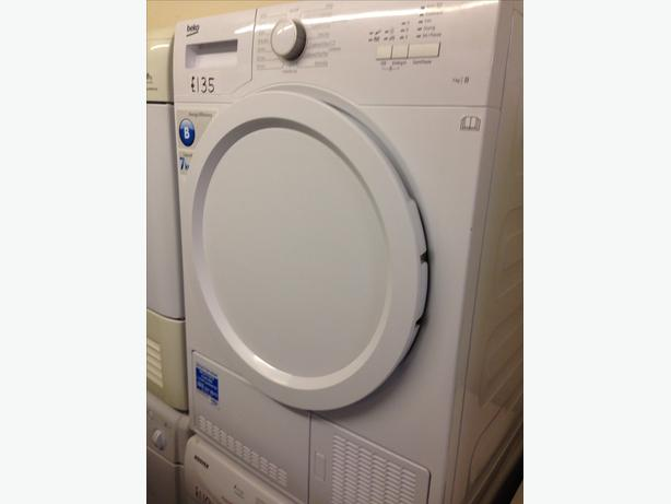 BEKO 7KG CONDENSER DRYER WHITE1
