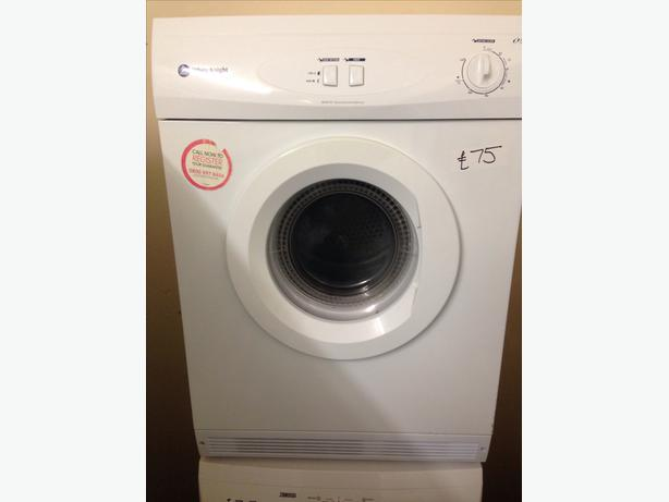 6KG WHITE KNIGHT VENTED DRYER