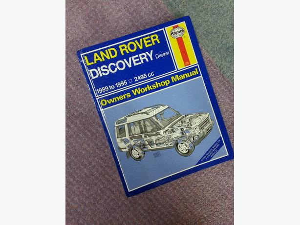 Haynes Workshop  Manual  Discovery 1989-95