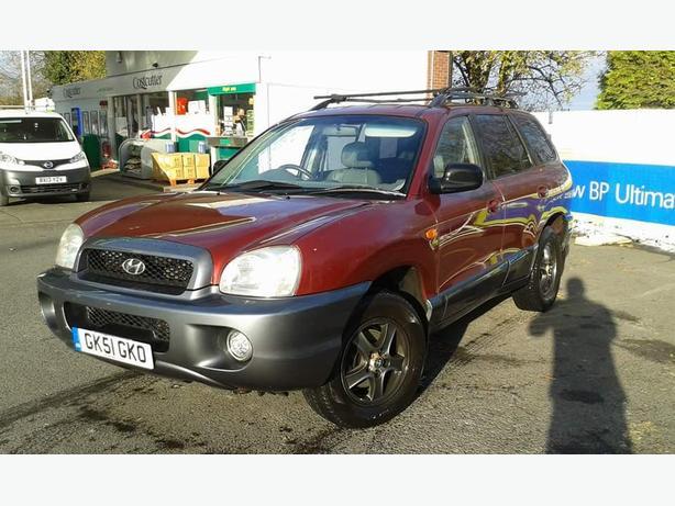 2001 hyundai santa,fe se auto 2.7 V6 4WD