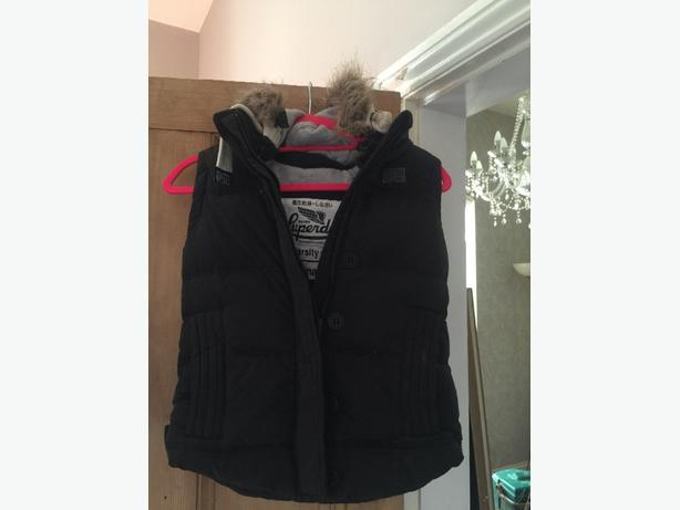 superdry xsmall gilet