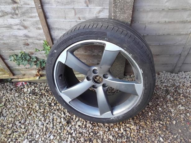 2x19 audi razor wheels