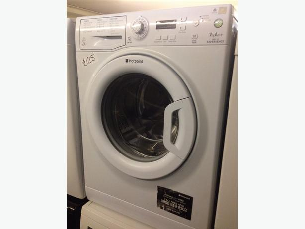 WHITE 7KG HOTPOINT WASHING MACHINE