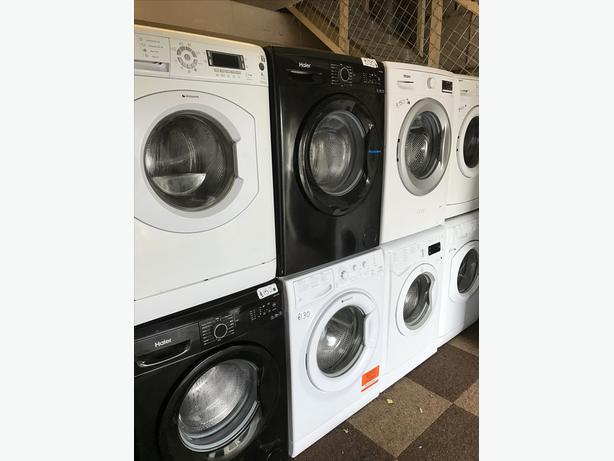 WE HAVE LOTS OF BLACK WASHING MACHINES FOR SALE £150