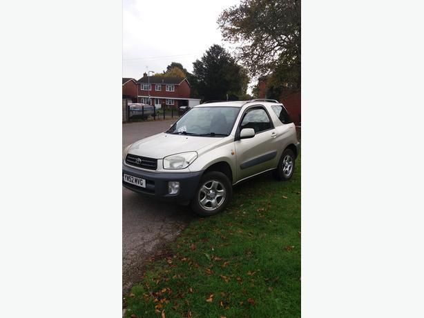 TOYOTA RAV4.FULL MOT,IDEAL FOR WINTER.