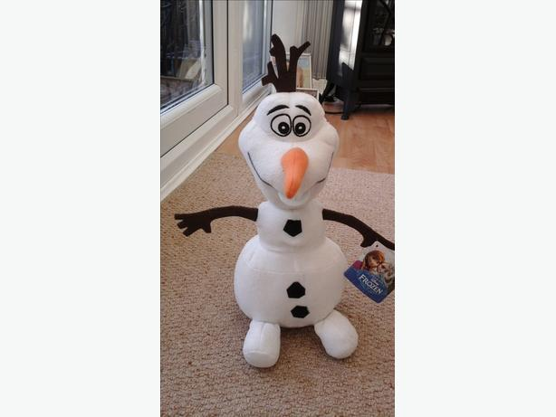 Olaf soft toy brand new with tags