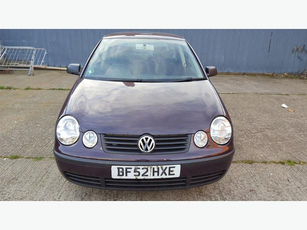 VW POLO 1.4 5 DOOR MINT RUNNER LONG MOT SPARE & REPAIRES