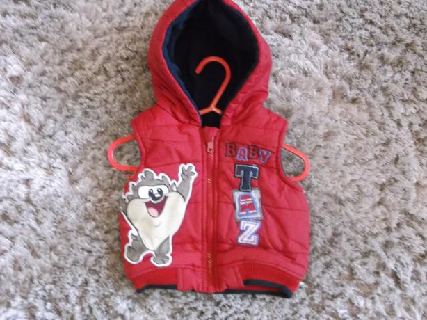 3-6 MONTHS BABY TAZ PADDED BODY WARMER