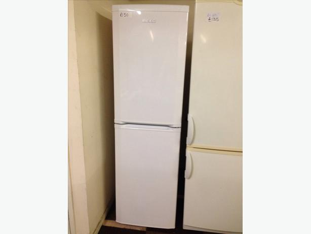 A CLASS WHITE BEKO FRIDGE FREEZER