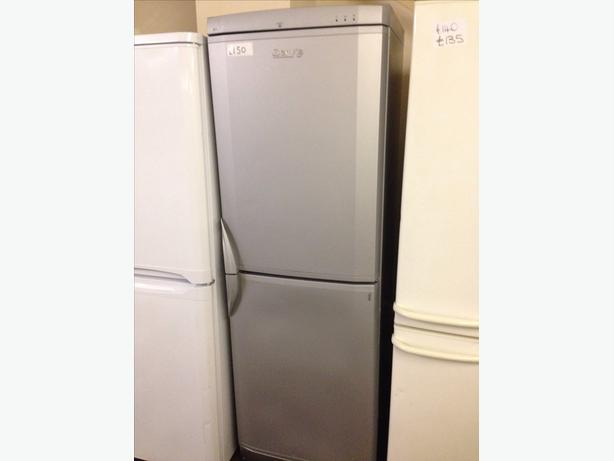 SERVIS FRIDGE FREEZER SILVER
