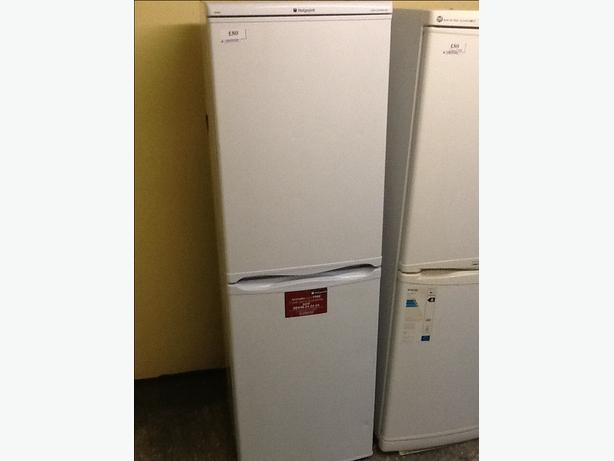 Look hotpoint iced diamond fridgefreezer free delivery