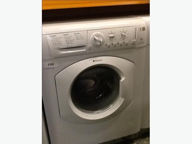 6kg hotpoint washer free delivery and fitting