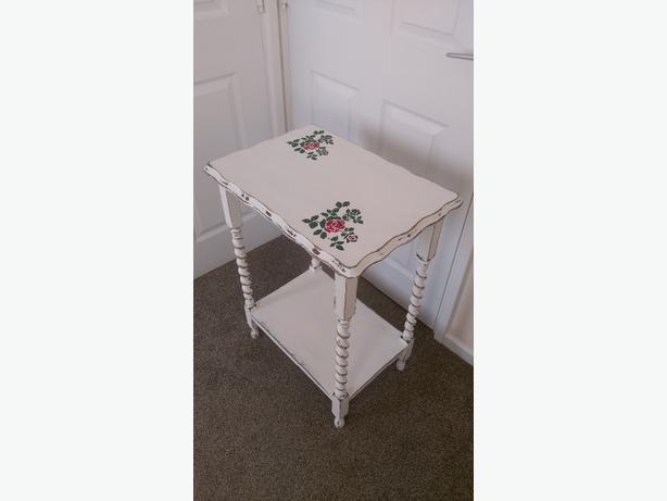 shabby chic barley twist table