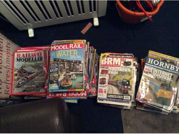 Model Railway Magazines (over 110)