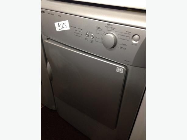 BEKO 6KG VENTED DRYER SILVER