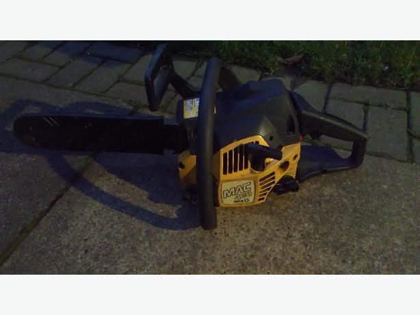 mculloch petrol chainsaw