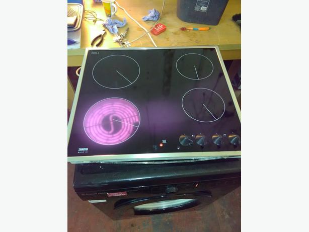 zanussi electric hob