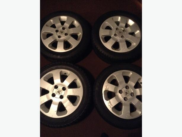 Vauxhall 4studs alloy wheels set of four