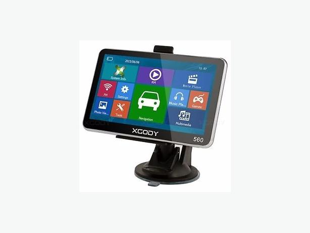 "XGODY 5"" GPS SAT NAV Touch Screen"