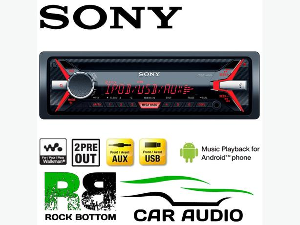selling new sony car audio with box
