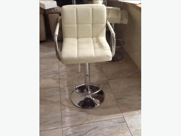 2xcream rise and fall kitchen bar stools