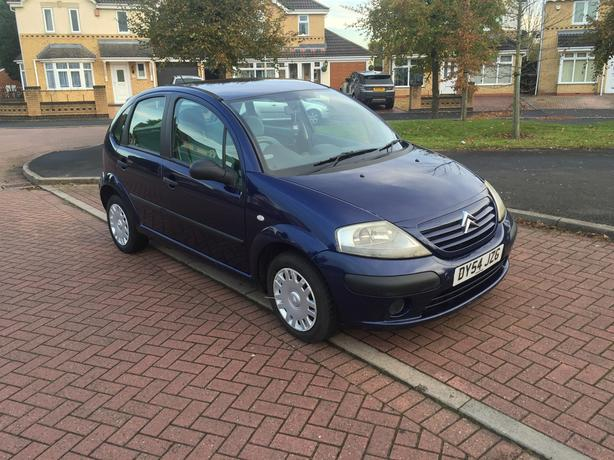 2004 54 Citroen C3 1.4 HDi Desire 5 Dr £20 A Year Road Tax 2 keys