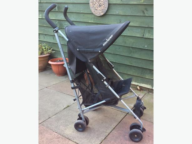 macclaren black pushchair STILL FOR SALE