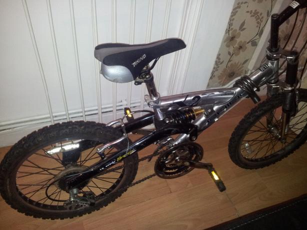 boys rhino titanium mountain bike