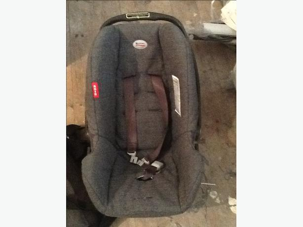Brittax baby car chair and matching bag