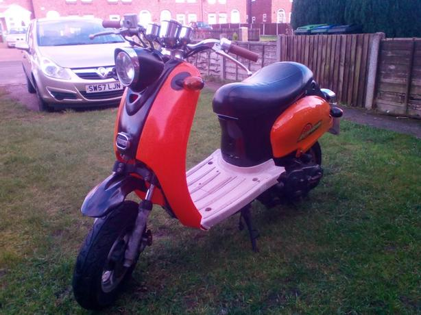 vespa copy 50cc moped