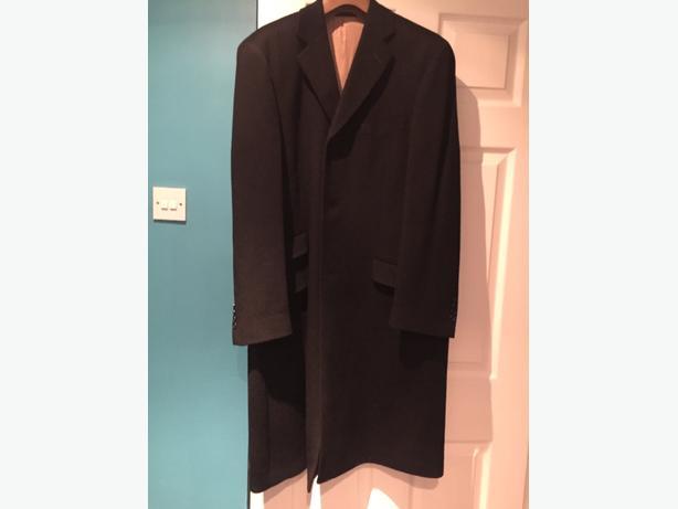 Black Cashmere Blend Coat