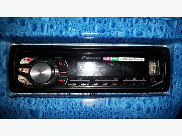 Pioneer face off car stereo