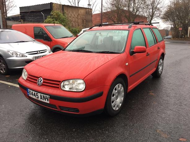 golf 1.9 diesel estate,x reg,172k