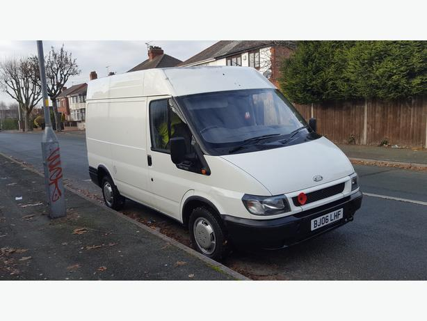Ford Transit T300 100 Bhp Swb High Top Van 2006 With Removable Crew Seats