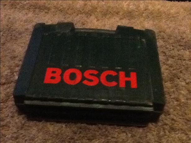 Bosch. Hammer. Drill.
