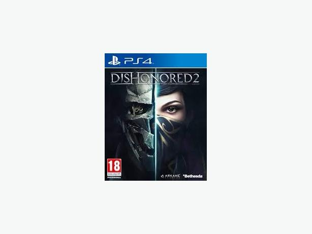 Sealed dishonored 2 ps4