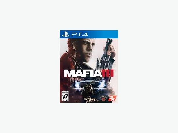 Sealed mafia 3 ps4